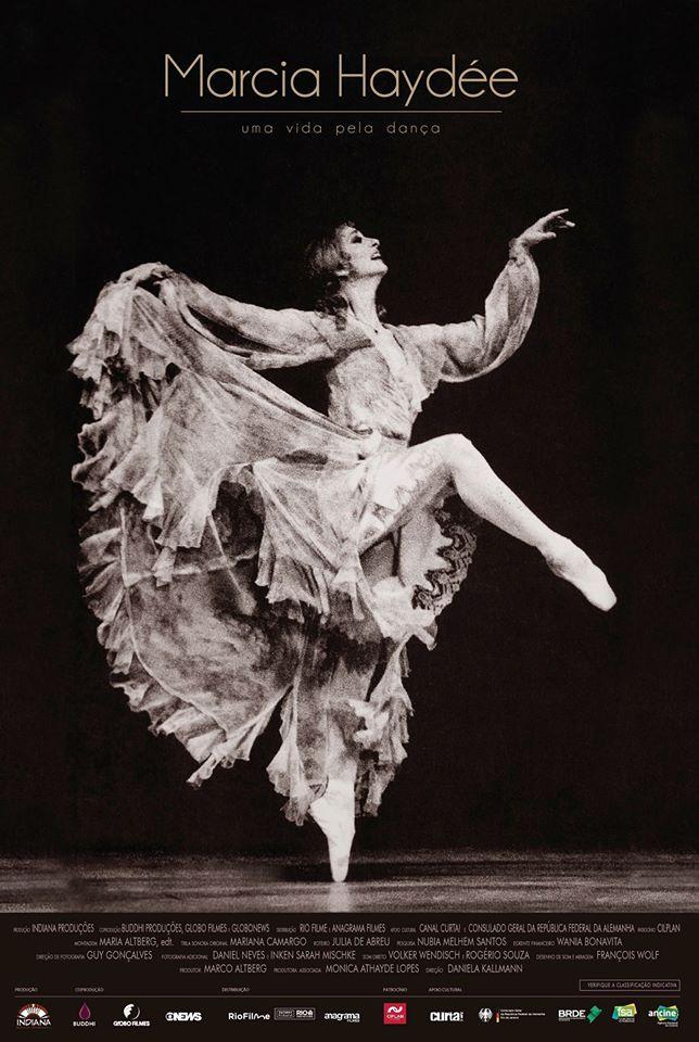 Poster de Márcia Haydee Uma Vida Pela Dança
