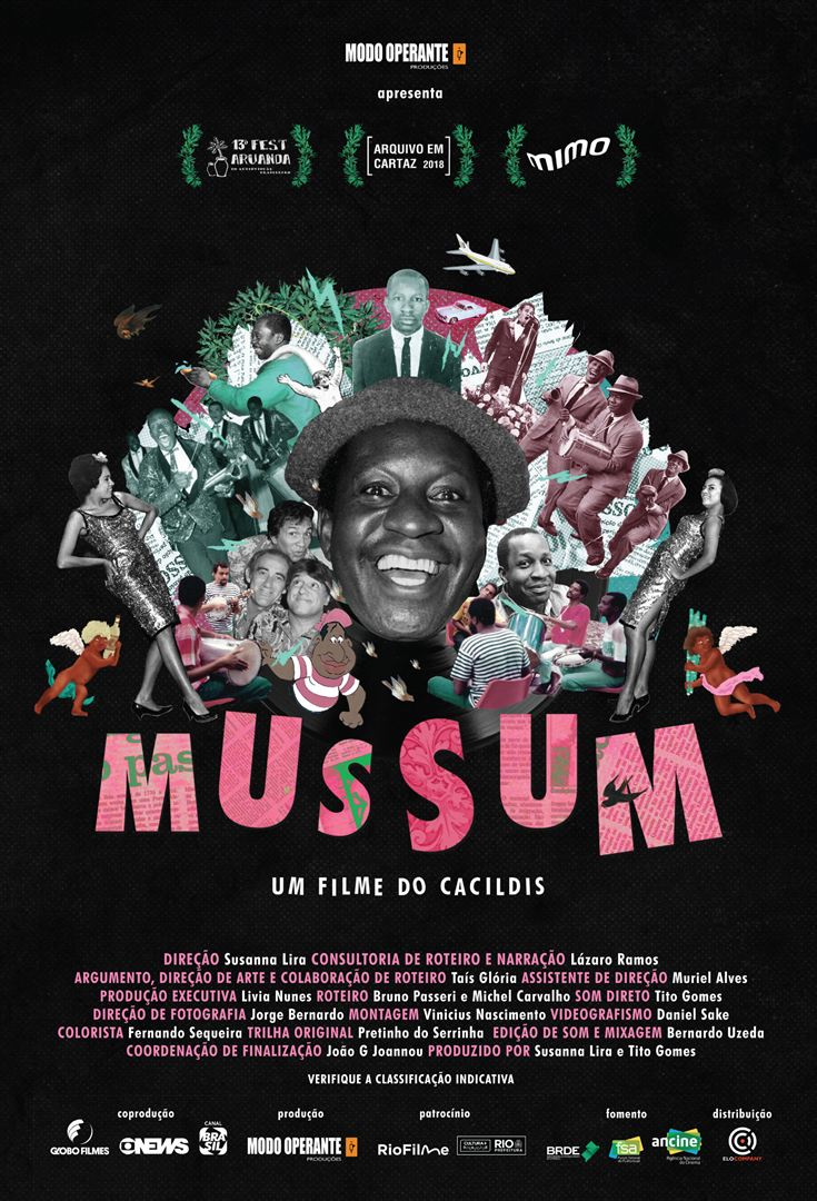 Poster de Mussum Um Filme do Cacildis