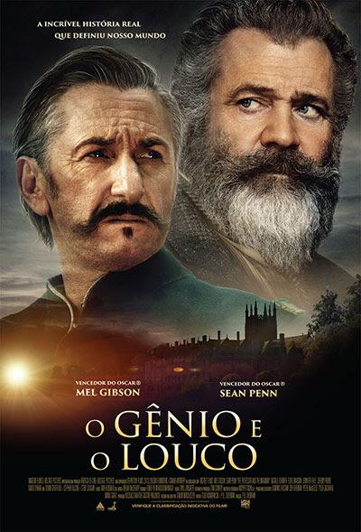 Poster de O Gênio e o Louco