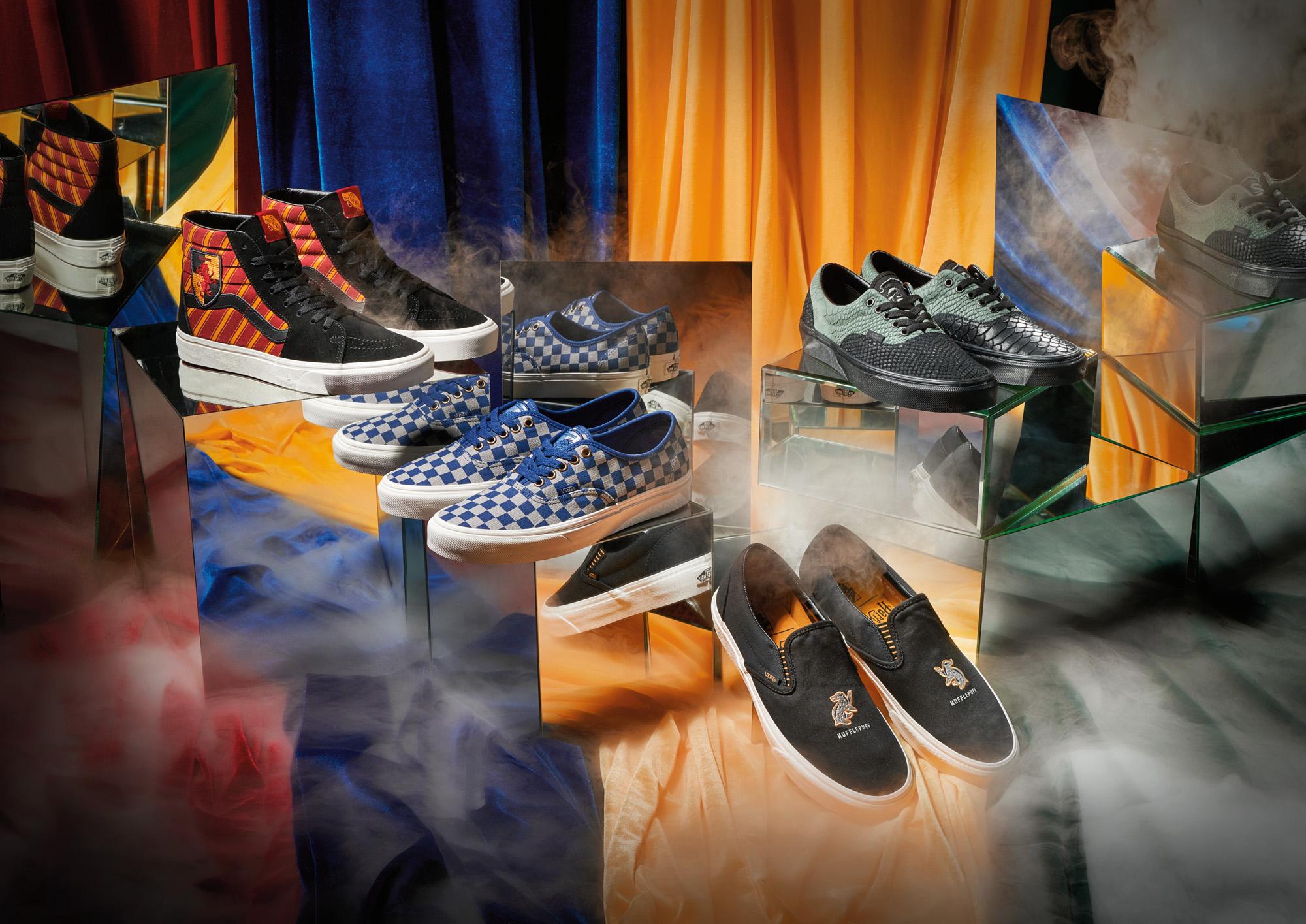 Vans anuncia coleção de tênis inspirada em Harry Potter