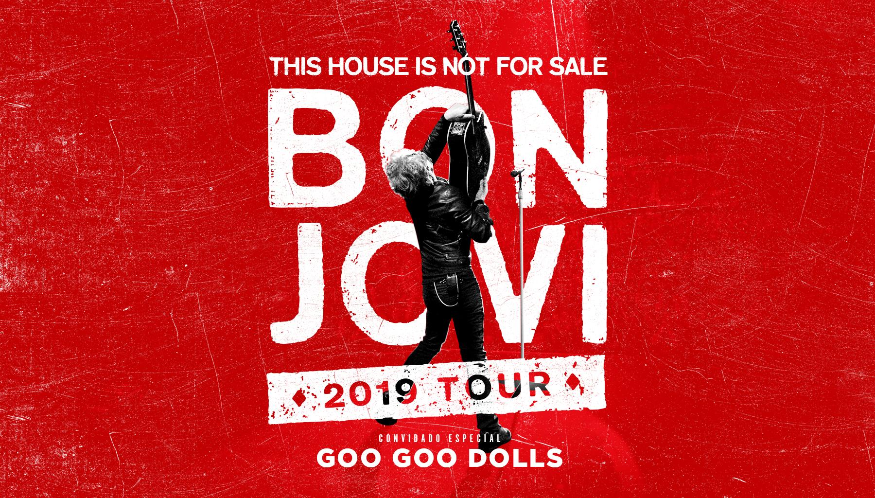 Bon Jovi confirma três shows no Brasil fora do Rock in Rio; veja preços