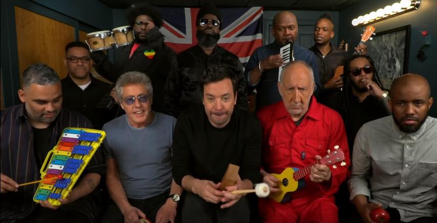 """The Who faz versão de """"We Won't Get Fooled Again"""" com instrumentos infantis"""