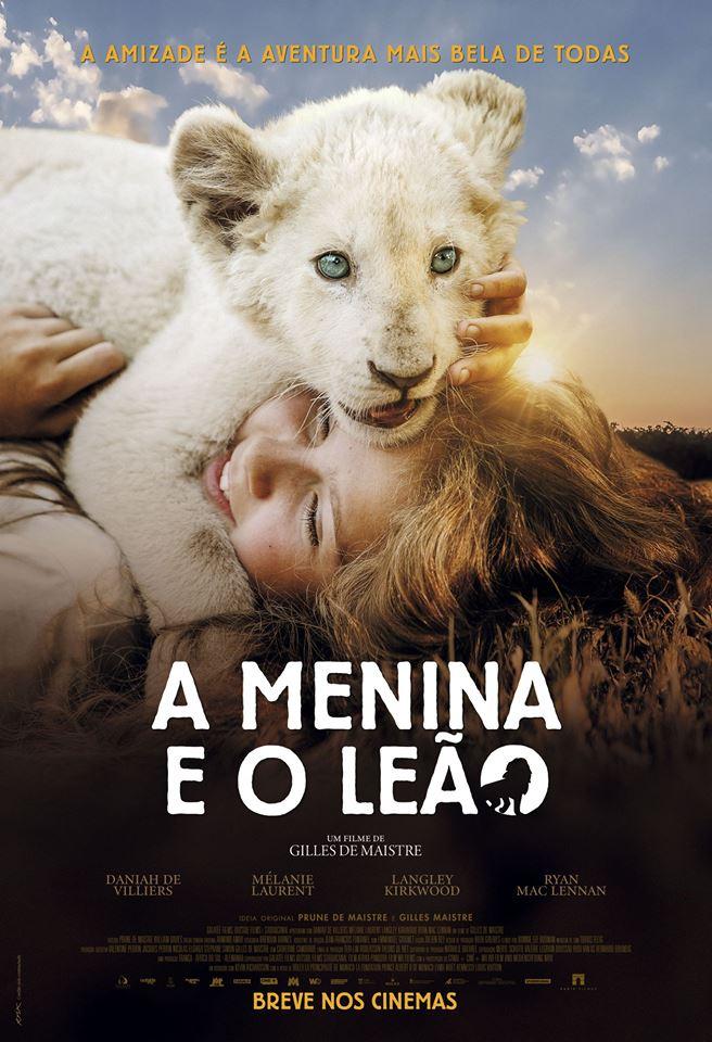 Poster de A Menina e o Leão