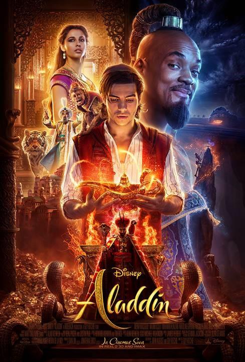 Poster de Aladdin (2019)