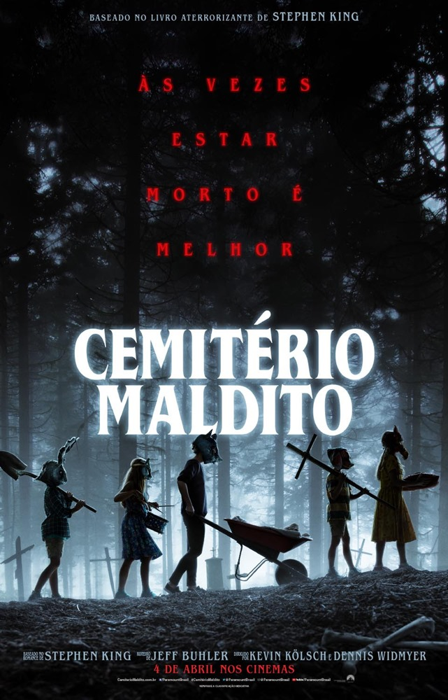 Poster de Cemitério Maldito