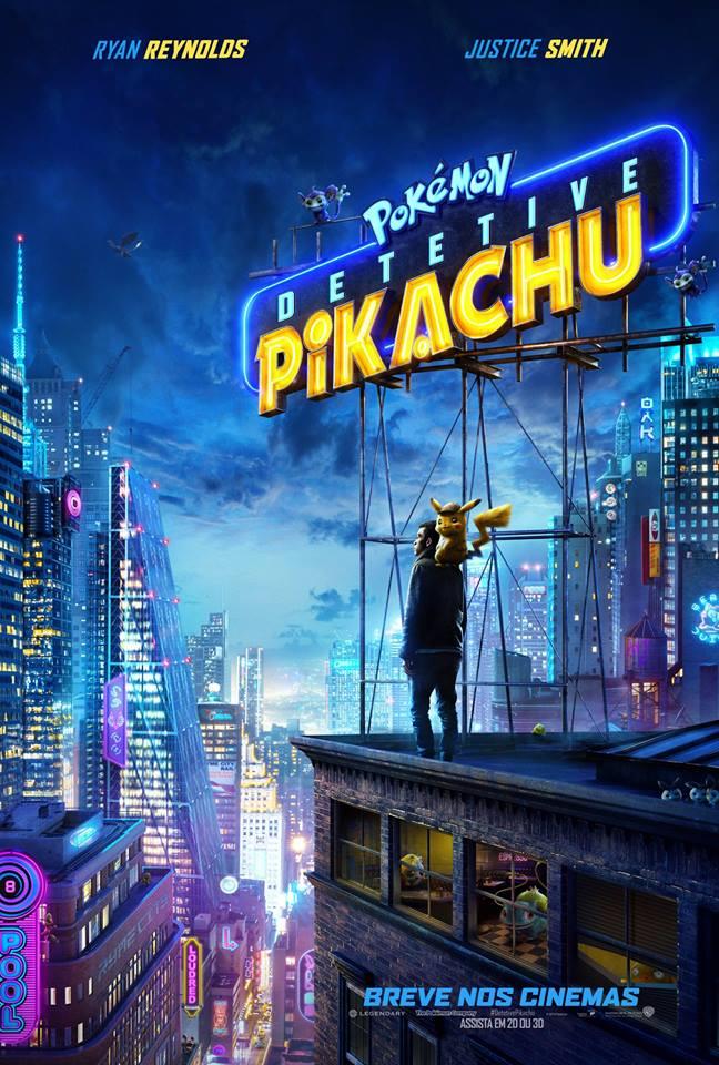 Poster de Pokémon: Detetive Pikachu