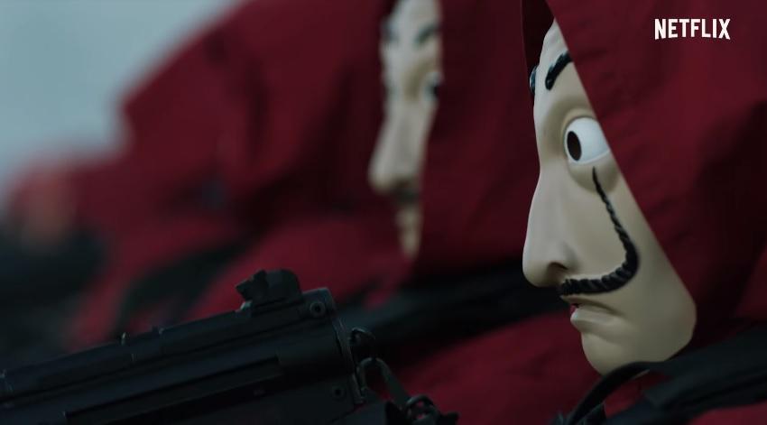 Com retorno triunfante, Netflix divulga trailer de 3ª parte de La Casa de Papel