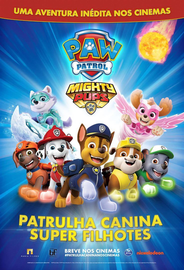 Poster de Patrulha Canina Super Filhotes