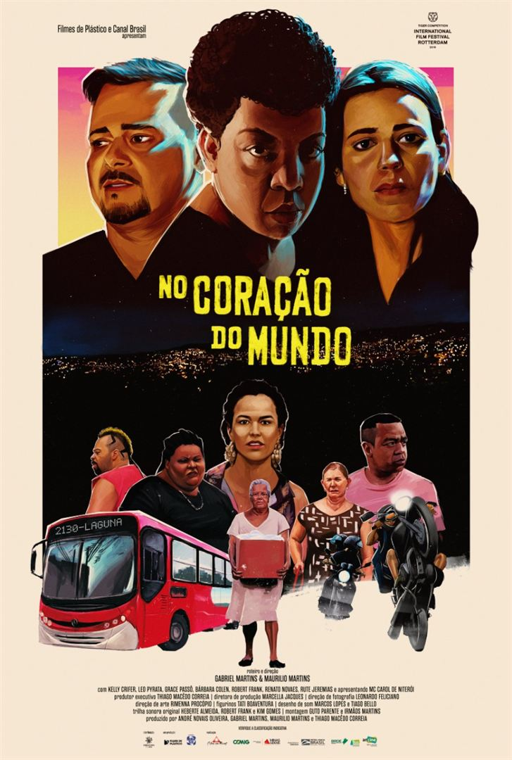 Poster de No Coração do Mundo