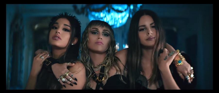 Miley Cyrus, Ariana Grande e Lana Del Rey lançam Don't Call Me Angel; ouça