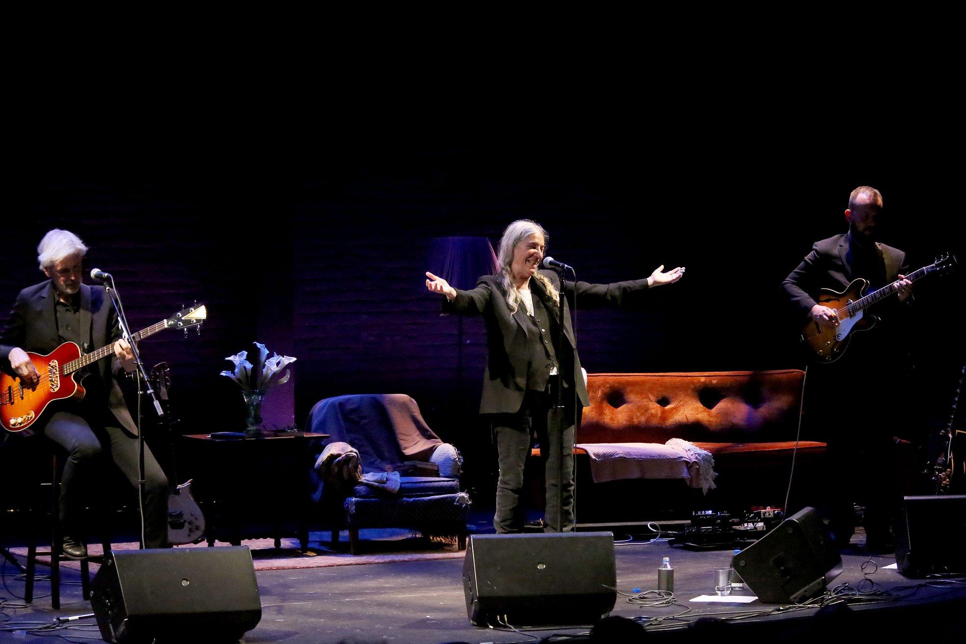 Patti Smith fará show beneficente em São Paulo; veja preços