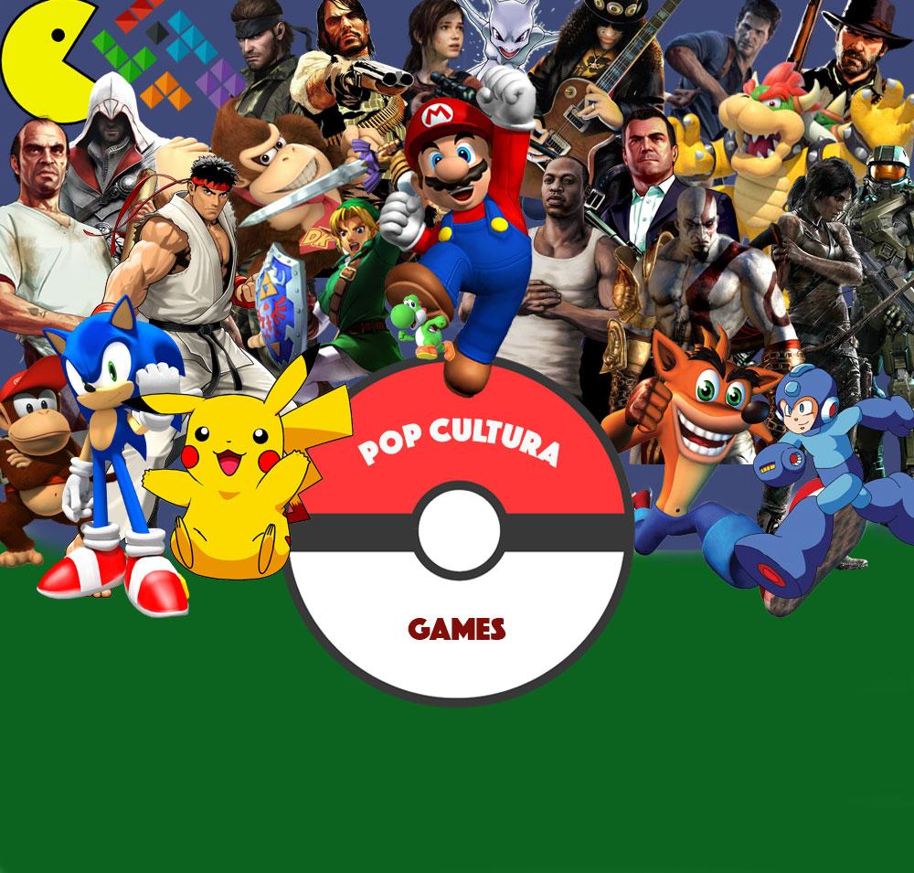 Pop Cultura passa a cobrir eventos e novidades do mundo dos Games
