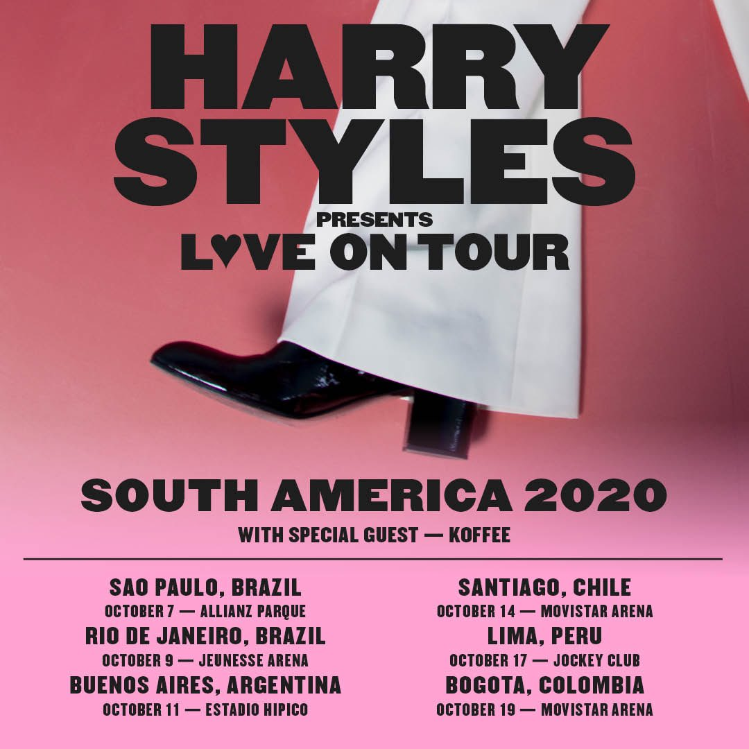 Harry Styles confirma dois shows no Brasil em 2020; veja preços