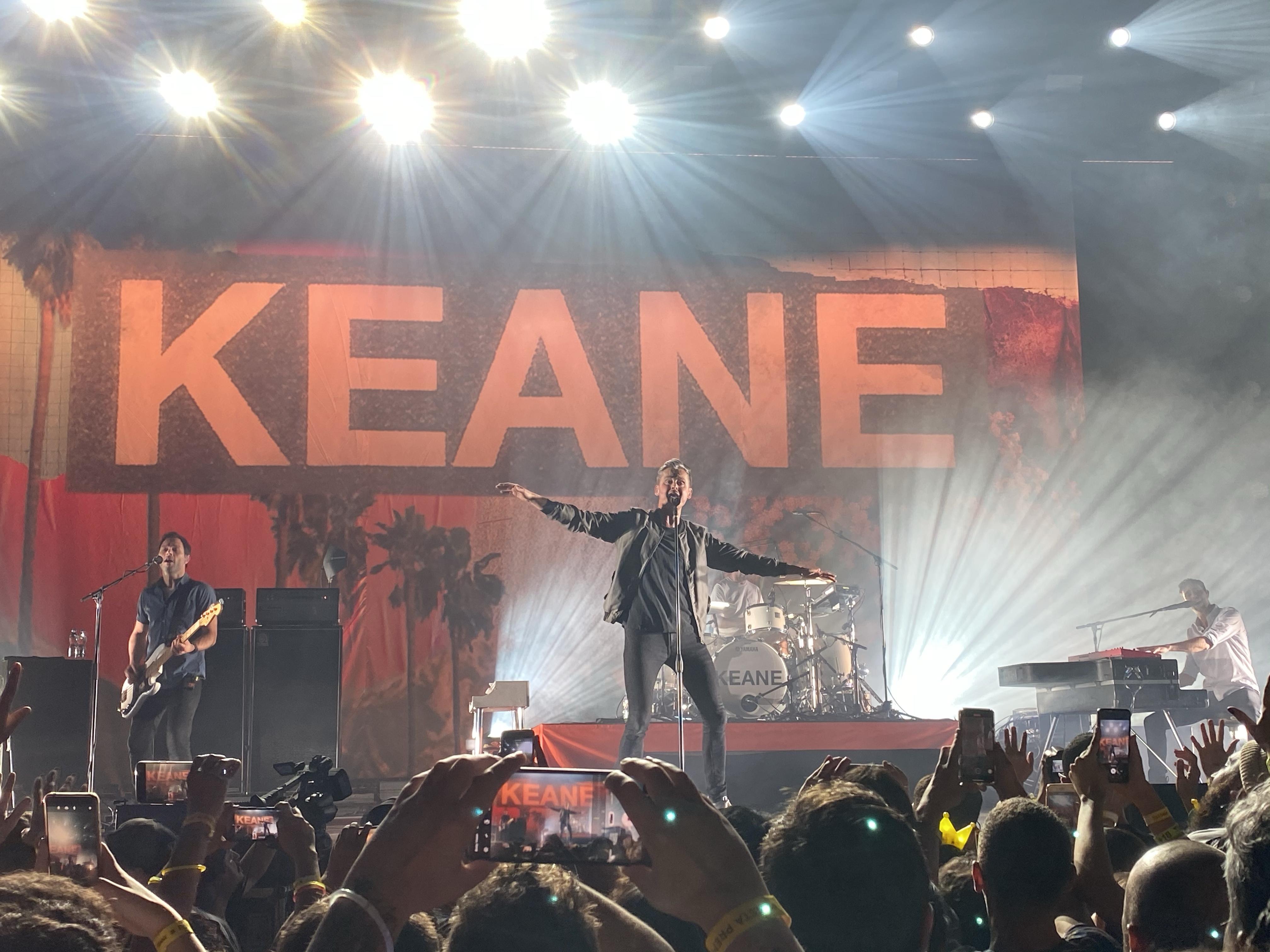 Retorno do Keane é celebrado calorosamente durante show em São Paulo; veja o setlist
