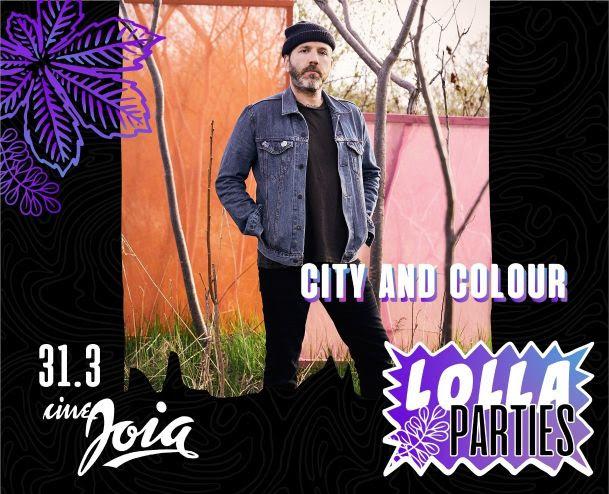 Lolla Parties: City and Colour fará show solo em São Paulo; veja preços
