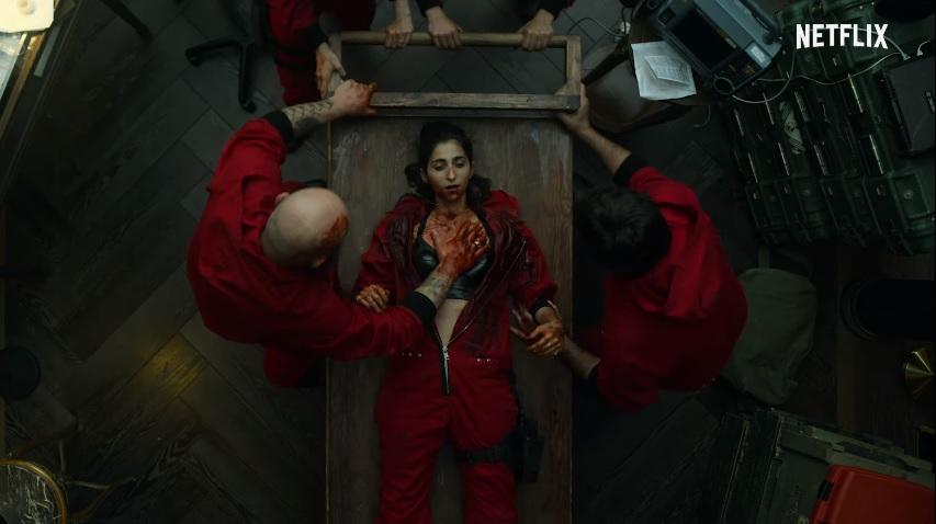Netflix divulga trailer de 4ª parte de La Casa de Papel; assista