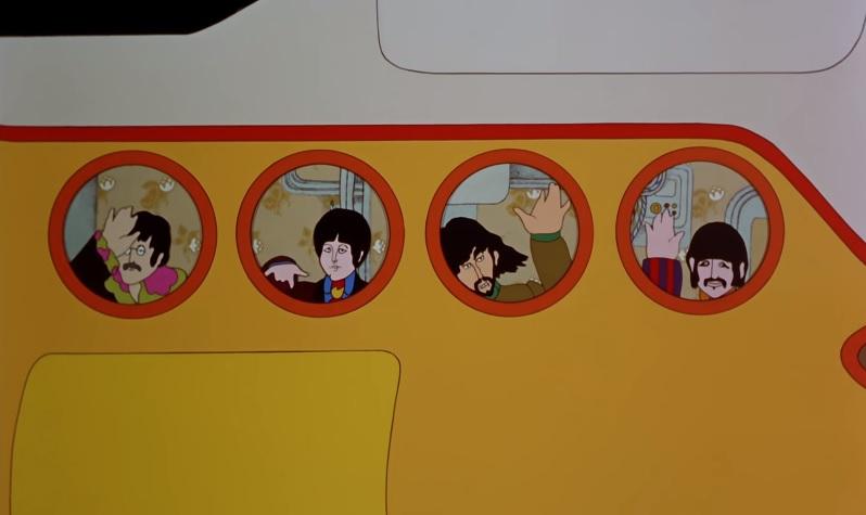 """Filme """"Yellow Submarine"""", dos Beatles, será exibido online e terá interação de fãs"""