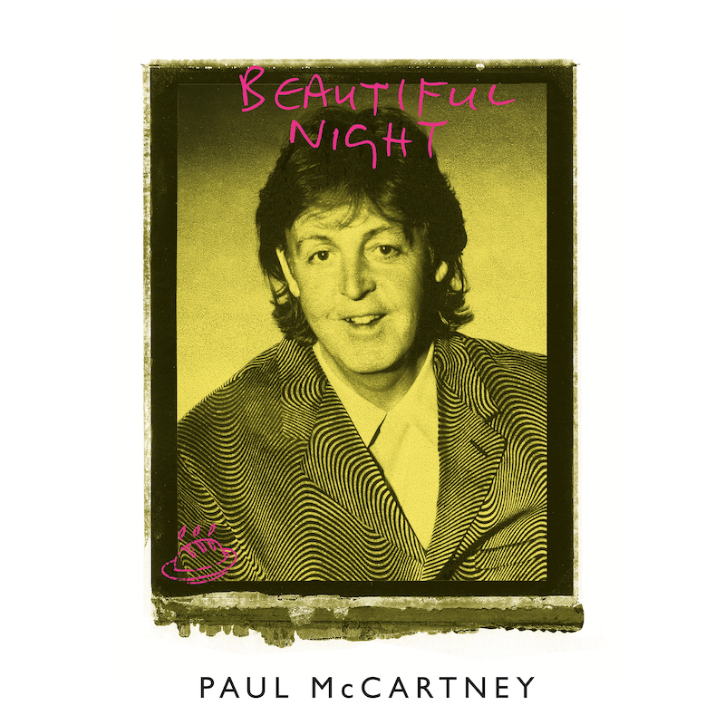 "Paul McCartney relança EP ""Beautiful Night"", do ""Flaming Pie""; ouça"