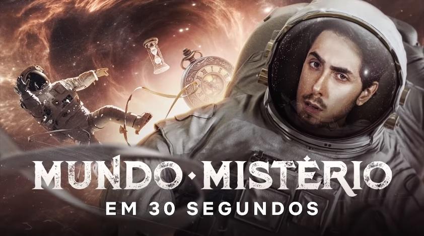Mundo Mistério, série de Felipe Castanhari na Netflix, ganha data de estreia