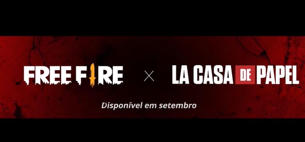 Evento de La Casa de Papel chegará ao Free Fire em setembro