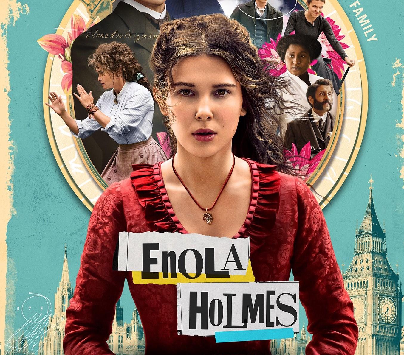 Enola Holmes, com Millie Bobby Brown, ganha data de estreia